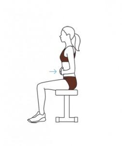 Exercice bureau abdos